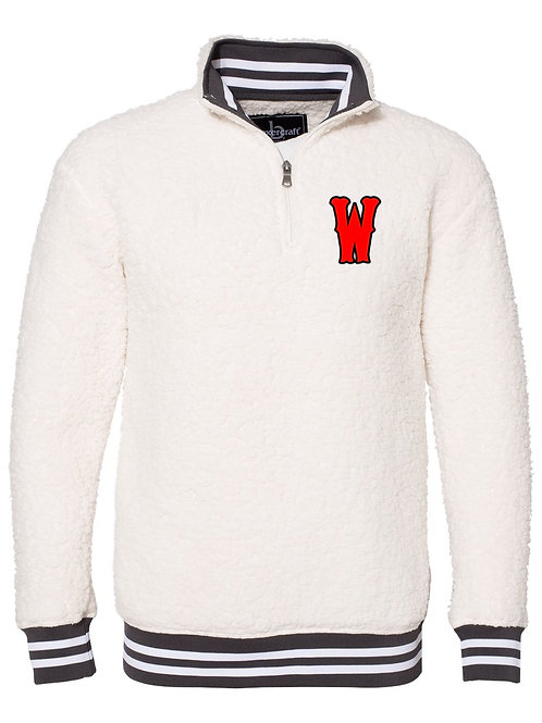 Boxercraft - Varsity Sherpa 1/4 Zip Pullover - Womens