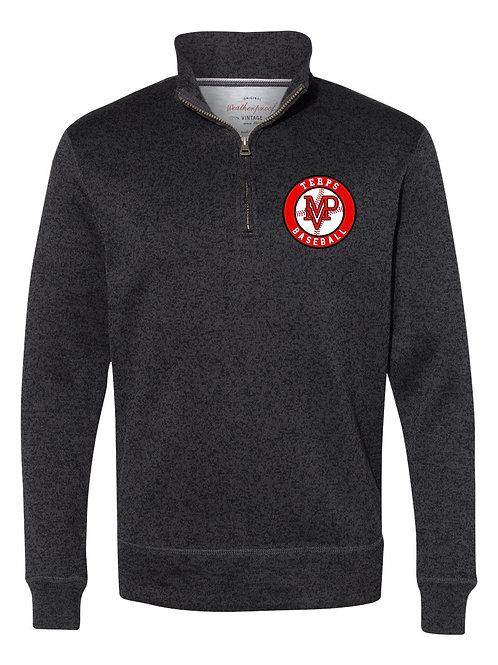 Weatherproof Co. Vintage Sweaterfleece Quarter-Zip Sweatshirt