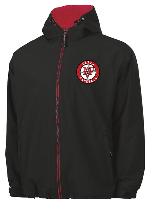 Terps - Enterprise Hooded Jacket by Charles River