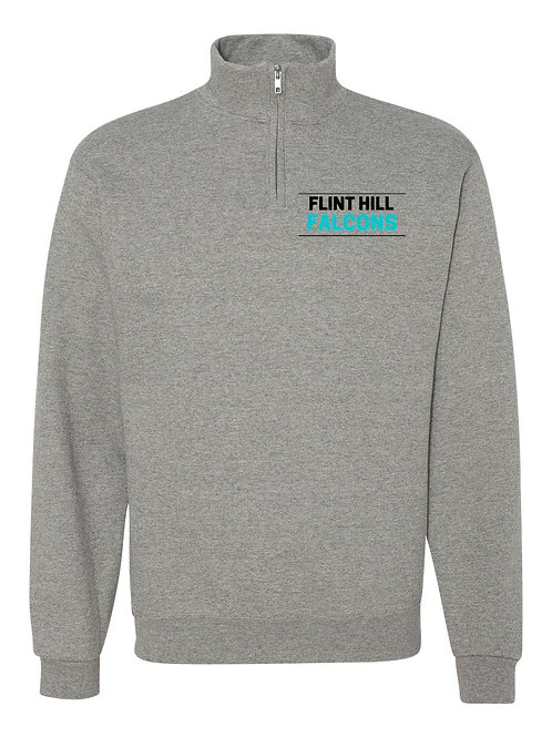 FH - Nublend® Cadet Collar Quarter-Zip Sweatshirt
