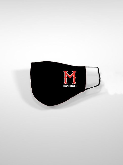 "Madison Baseball ""Over the Ear"" Masks (2-Pack)"