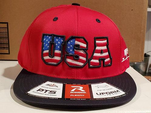 PTS495 FlexFit USA Team Hat