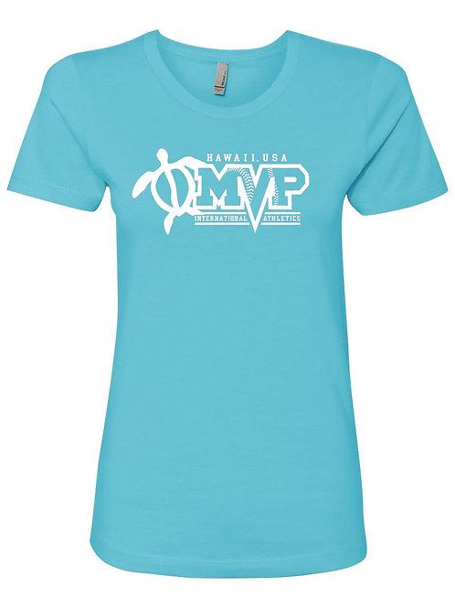 MVP Hawaii -NL Women's Short Sleeve Boyfriend Crew