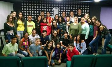 Evento con estudiantes