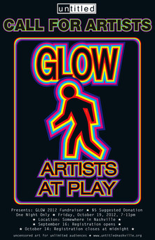 Untitled Glow Show Poster