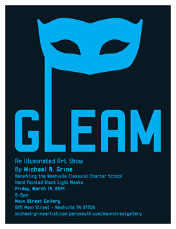 Gleam Show Poster 2014