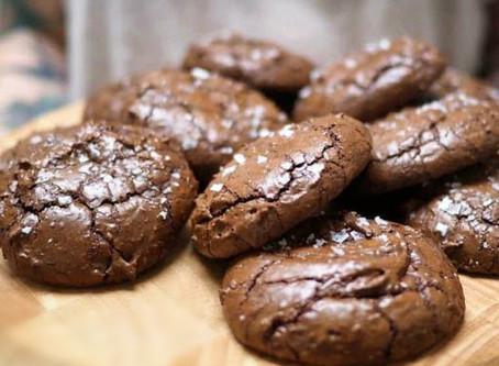 Nutella Brownie Cookies.