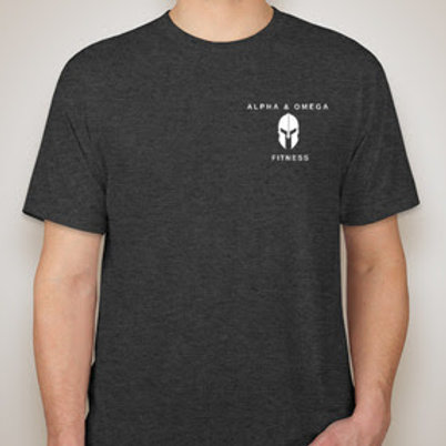 Alpha & Omega Tri-Blend Shirt (Left Chest Logo)