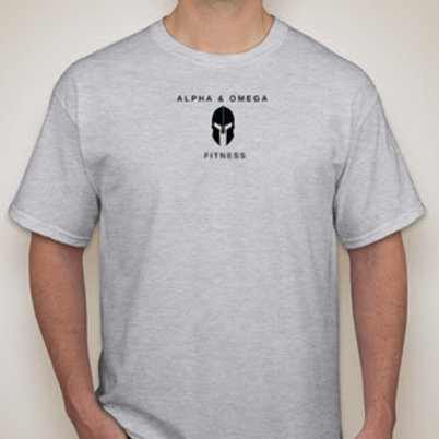 Alpha & Omega 100% Cotton Shirt (Center Logo)