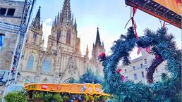 A feira de Natal mais tradicional de Barcelona