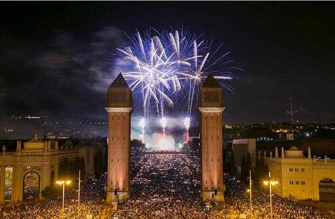 As Festas de la Mercê de Barcelona
