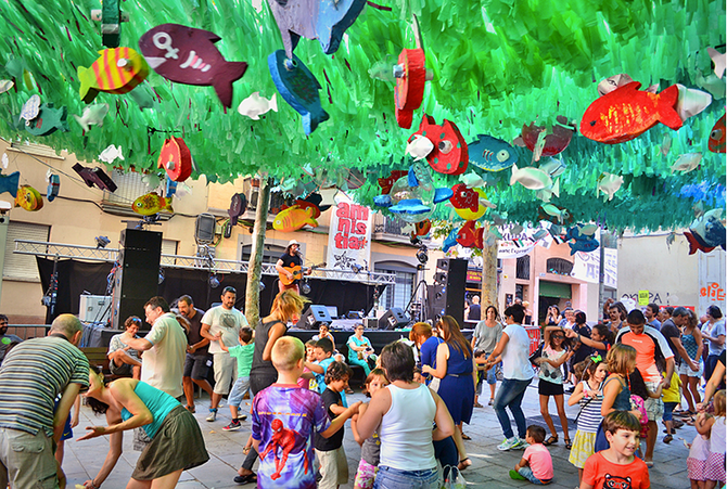 Começam as esperadas Festas de Gracia em Barcelona