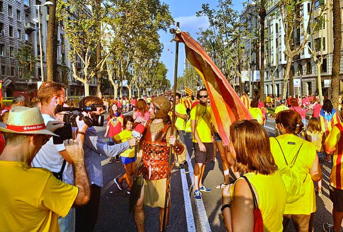 Por que o dia 11 de Setembro é o dia da Catalunha em Barcelona?