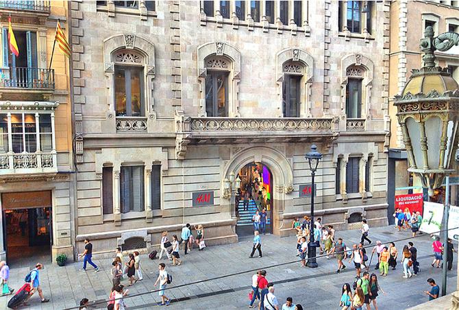 As liquidações de verão em Barcelona