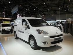 Peugeot Partner Electric van