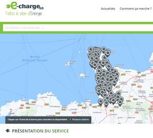 EV charge points  La Manche Normandy