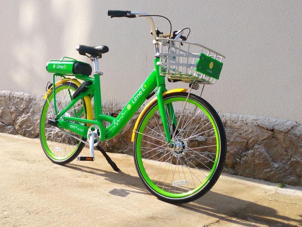 Lime bike share