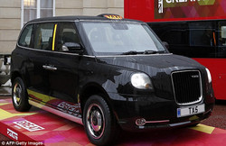 Electric taxi TX5
