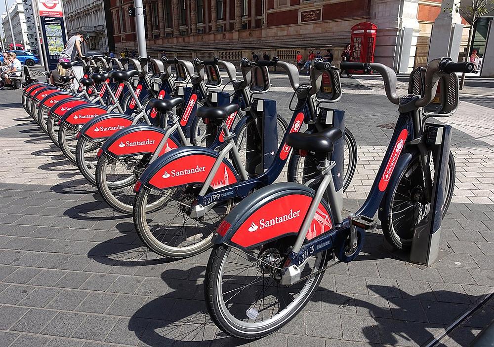 London Bike share