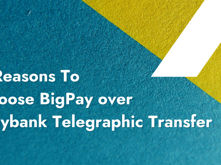 3 Reasons To Rethink Maybank Telegraphic Transfer vs BigPay [Updated 27 Oct 2020]