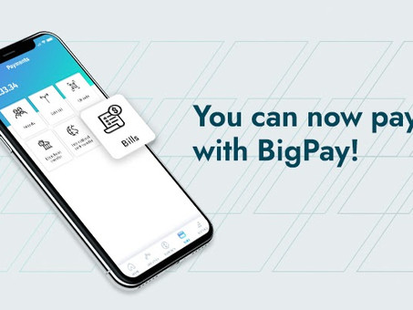 Introducing Bill Payments with BigPay - you can now pay bills with the BigPay app!