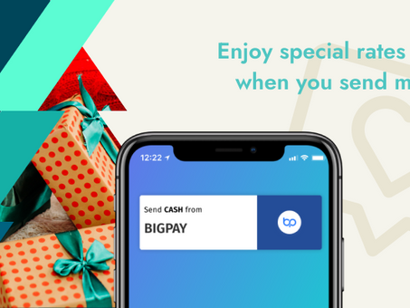 Tis the season for special rates and rewards! Send money home for a merrier Christmas with BigPay 🎄