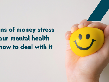 3 signs of money stress on your mental health and how to deal with it | #LetsTalkMoney | BigPay
