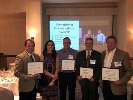 Charles Washington Hall receives Downtown Preservation Award