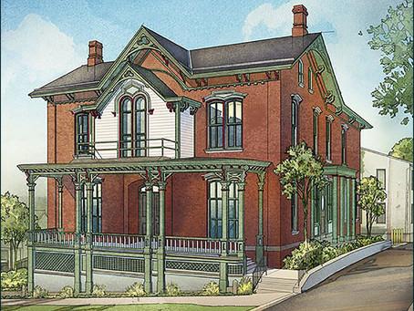 Schell House Rededication