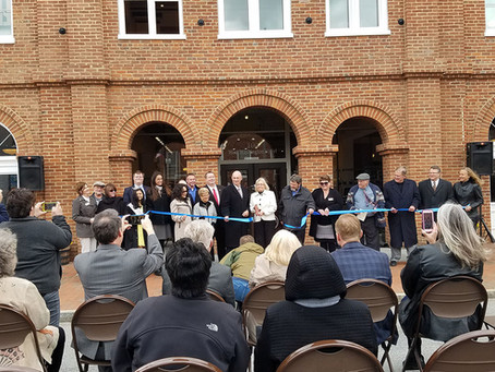 Historic Charles Washington Hall Rehabilitation Recognized with Award