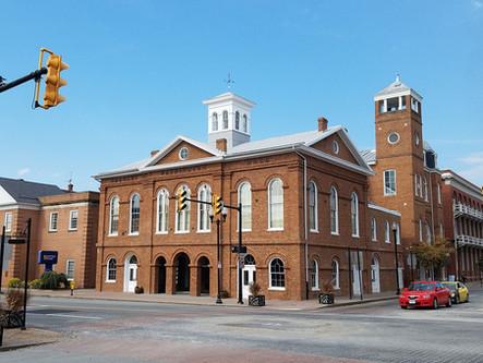 Historic Charles Washington Hall Market