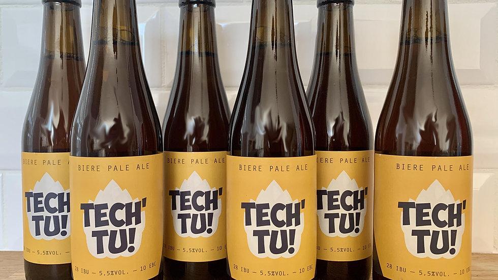 Pack de 6 bouteilles Tech'Tu 33cl