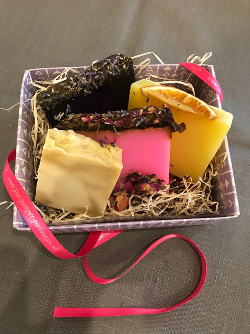 Luxury Handcrafted Soaps, Lavender, Rose, Citrus & Olive Oil