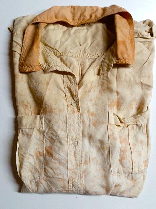COMING SOON Splatter Shirt in mangrove orange - Small