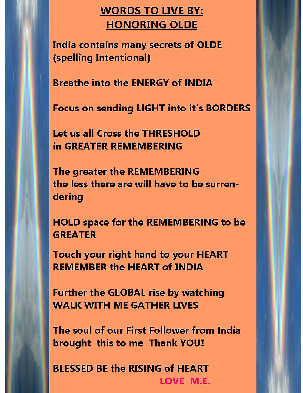 Remember the Energy of India