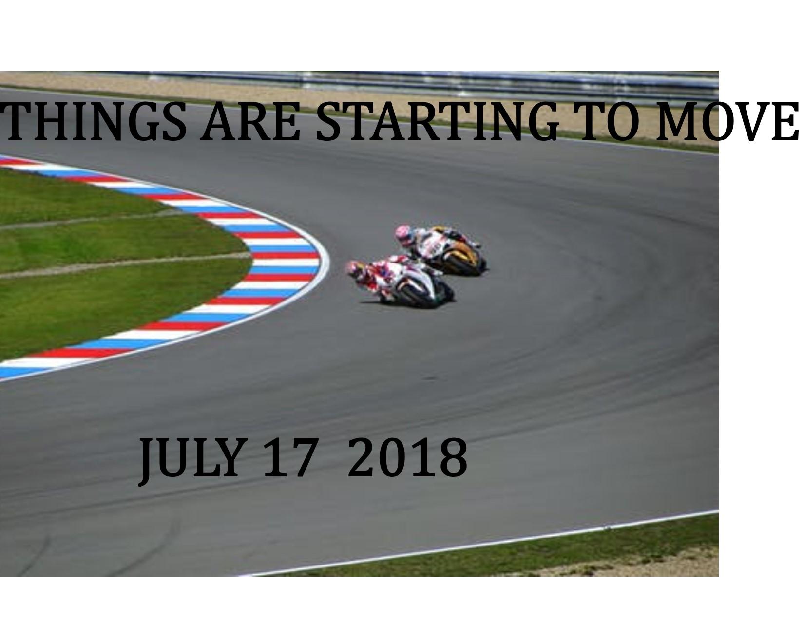 JULY 2018 UPDATE 7-17-18 PEG