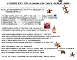 SEPTEMBER 2018 4CAST TIPS AND HELPERS PE