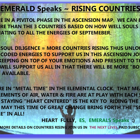 EMERALD SPEAKS ~ RISING COUNTRIES