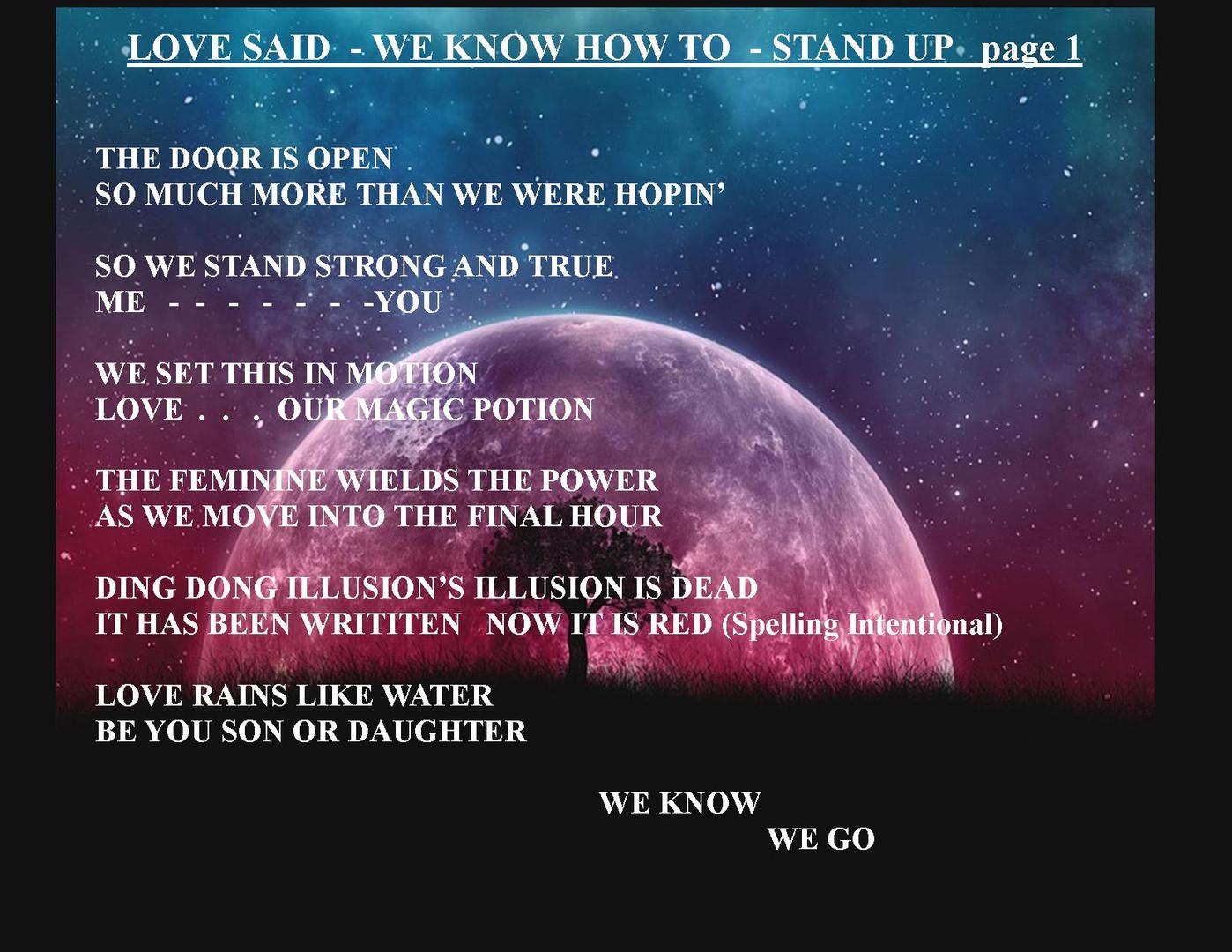 LOVE SAID STAND UP PEG REAL.jpg