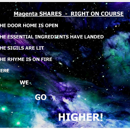Magenta SHARES - RIGHT ON COURSE