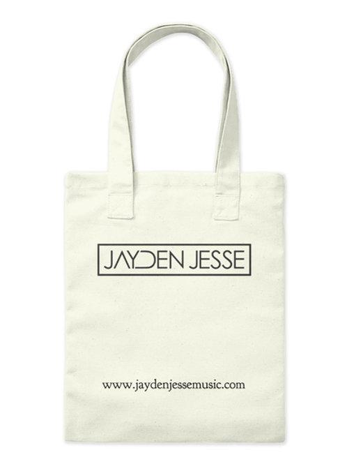 Jayden Jesse (Black Logo) Tote Bag