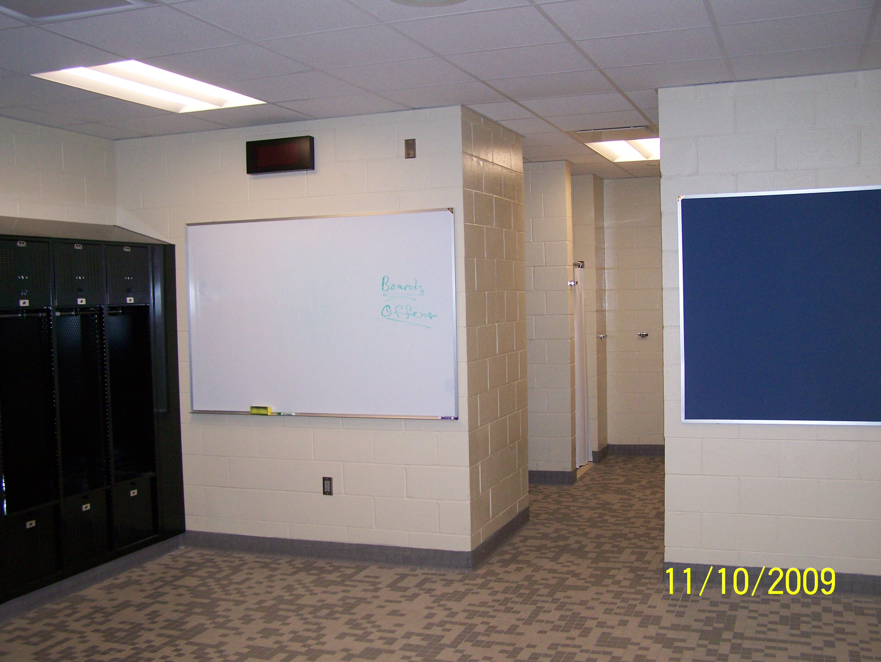 Mid-Plains Community College Locker Room