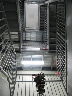 Arts Center Stairwell & elevator