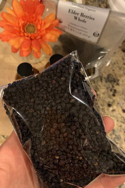 Dried Elderberry (4 oz)