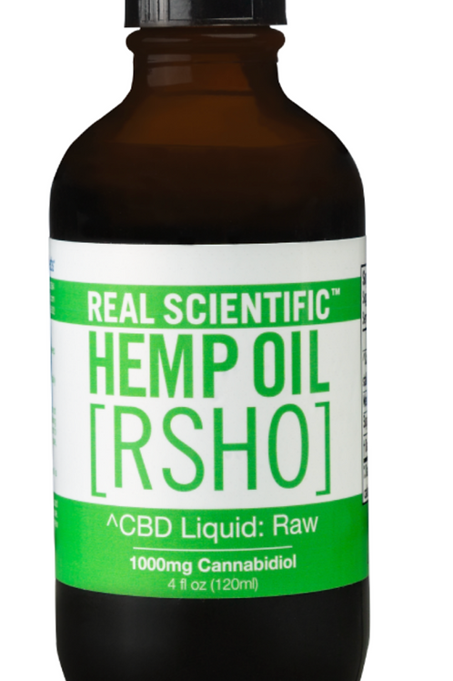 4 oz CBD Hemp Oil Liquid (1000 mg CBD)