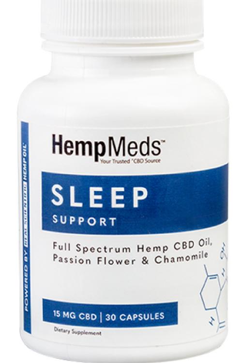 CBD & Herb Sleep Support Capsules