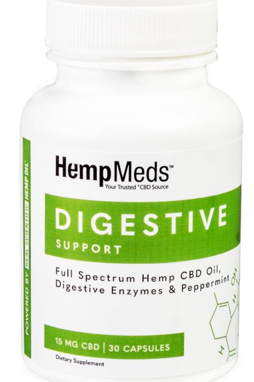 CBD & Herb Digestive Support Capsules