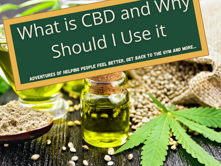 What is CBD and Why Should I Use it?