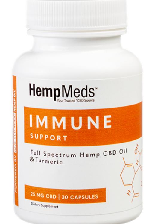 CBD & Herb Immune Support Capsules