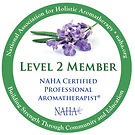 National Association for Holistic Aromatherapy professional membership seal